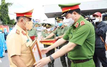 Thượng tá Trần Trọng Thủy - Người chiến sĩ công an tận tụy trên tuyến đầu chống dịch